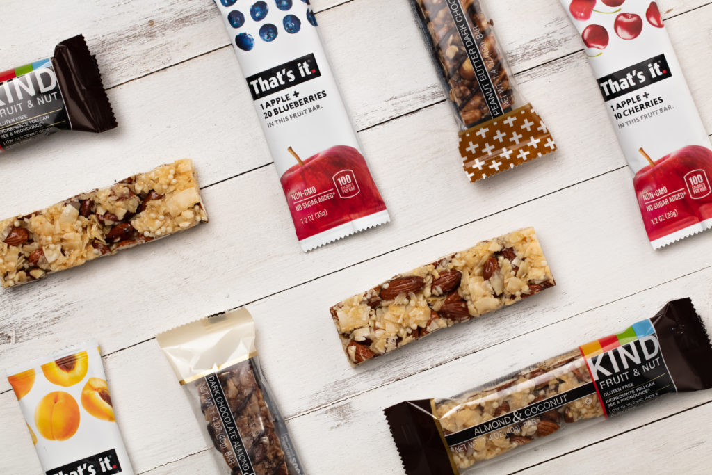 That's it and KIND bars are an example of using transparency in CPG snack bar packaging design.